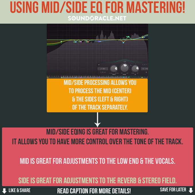 Using MID/Side EQ For Mastering!