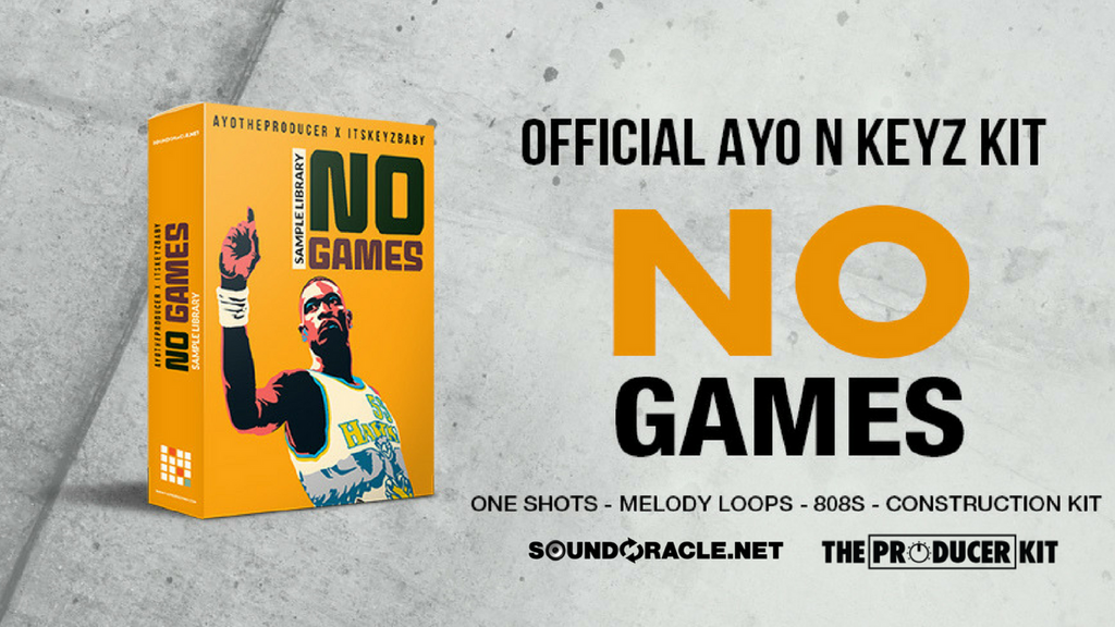 No Games, One Shots, Melody Loops, 808s, Construction Kit, The Official Ayo & Keyz Kit, Official Ayo N Keyz Kit, Ayo The Producer, Its Keyz Baby, Keyz Baby, Ayo & Keys, Sample Library, SoundOracle, Triza, The Producer Kit, Hip Hop
