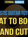 Acoustic Guitar Tutorial: What To Boost And Cut