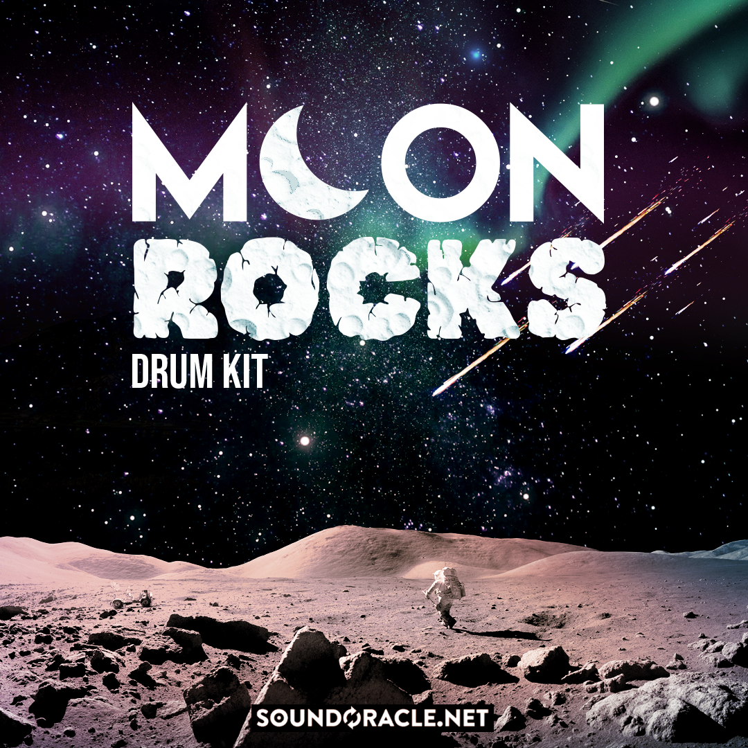 SoundOracle Releases Moon Rocks. Over 200 High-Quality One-Shot Drum Samples!