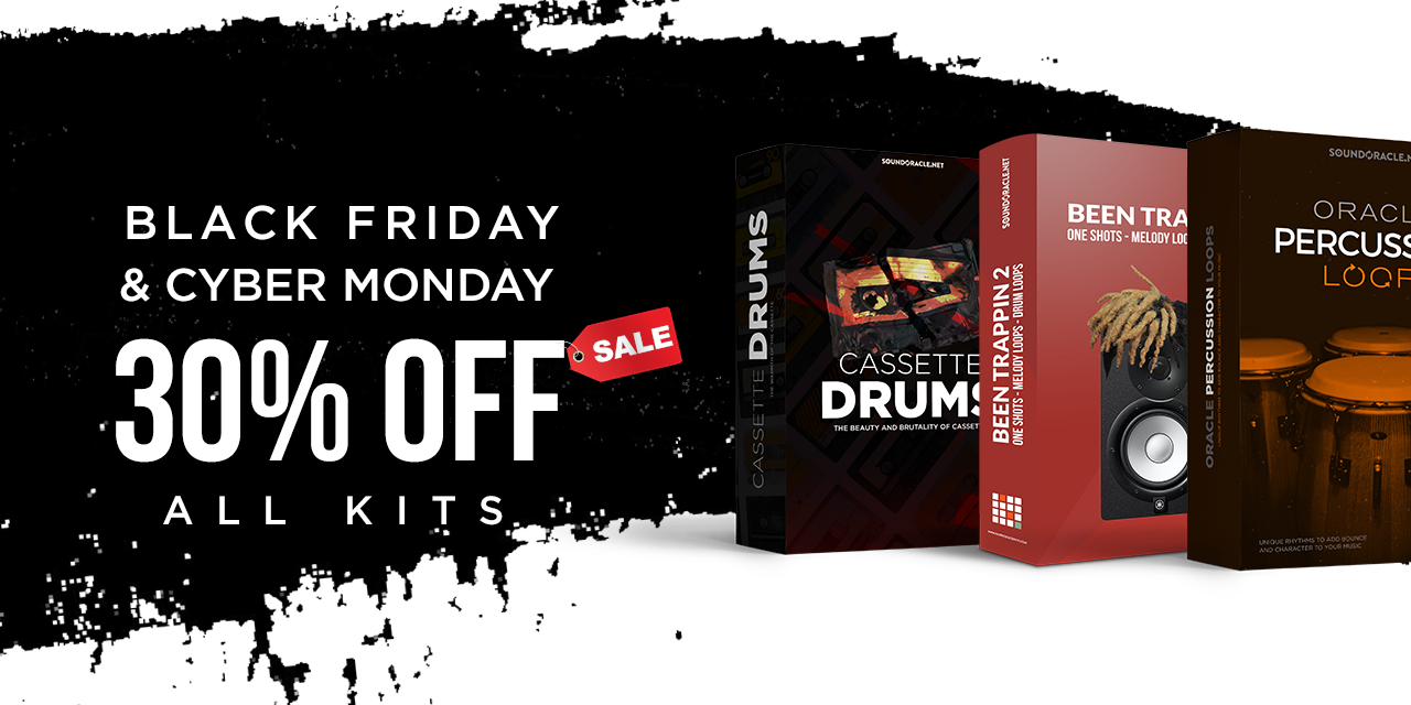 30% Off All Kits + Free Black Friday Sample Pack