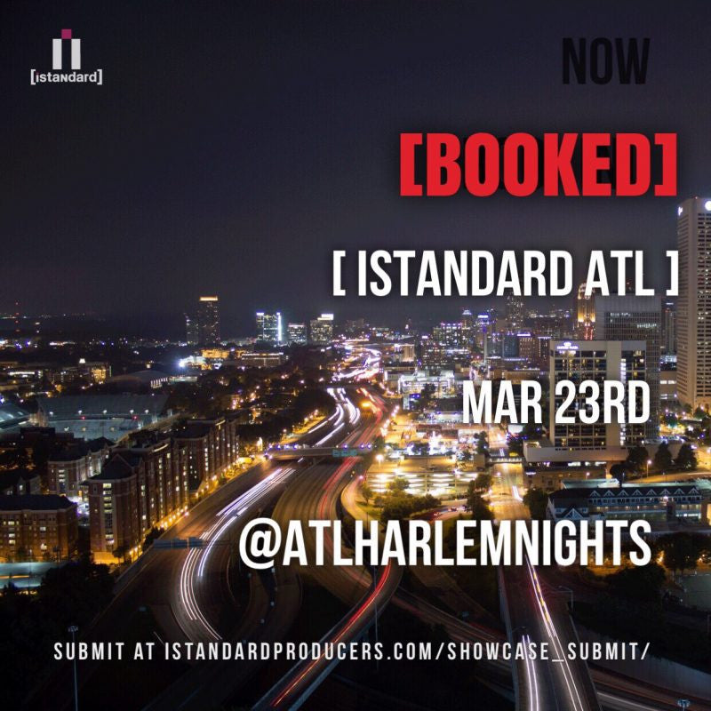 (March 23rd) Sound Oracle Judge at iStandard Producer Showcase, Harlem Nights ATL