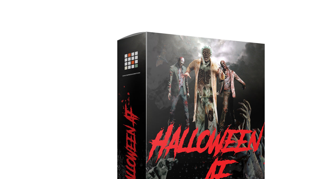 "Sound Oracle & Producer Kit presents ""Halloween AF."" 1 FREE Sound Kit"