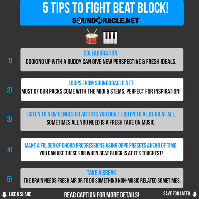 5 Tips To Fight Beat Block!