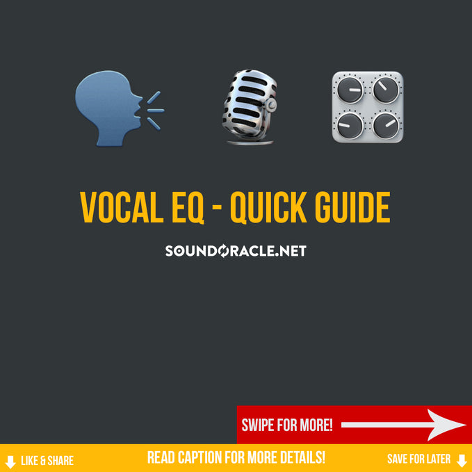 Vocal EQ – Quick Guide