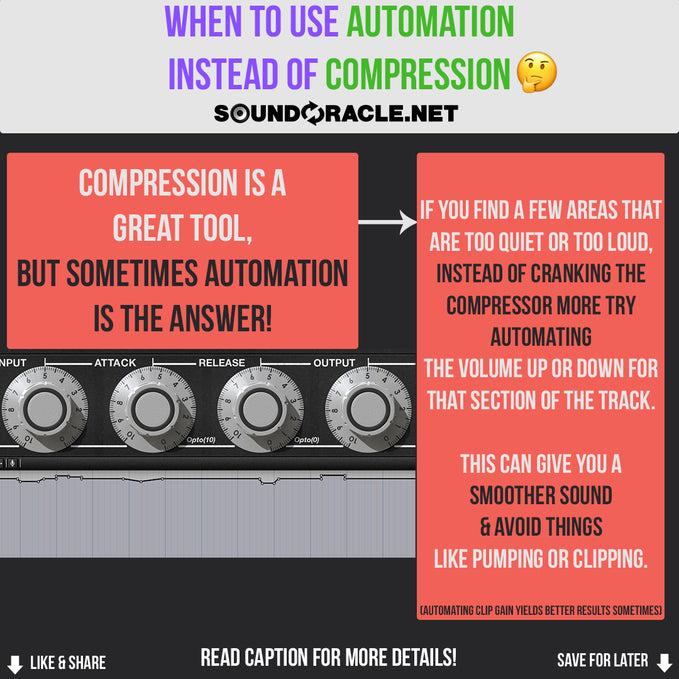 When To Use Automation Instead of Compression