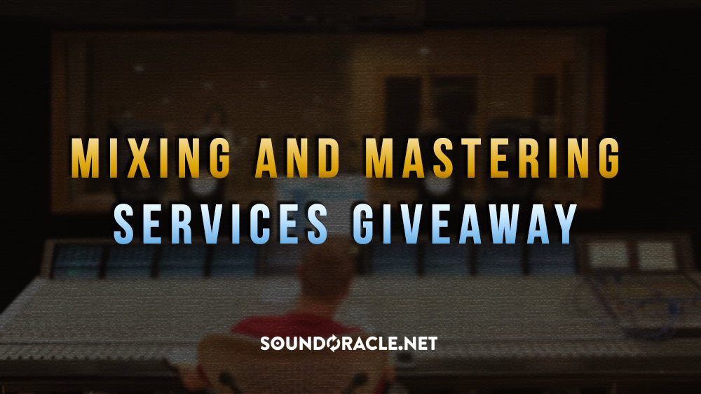 Mixing And Mastering Giveaway