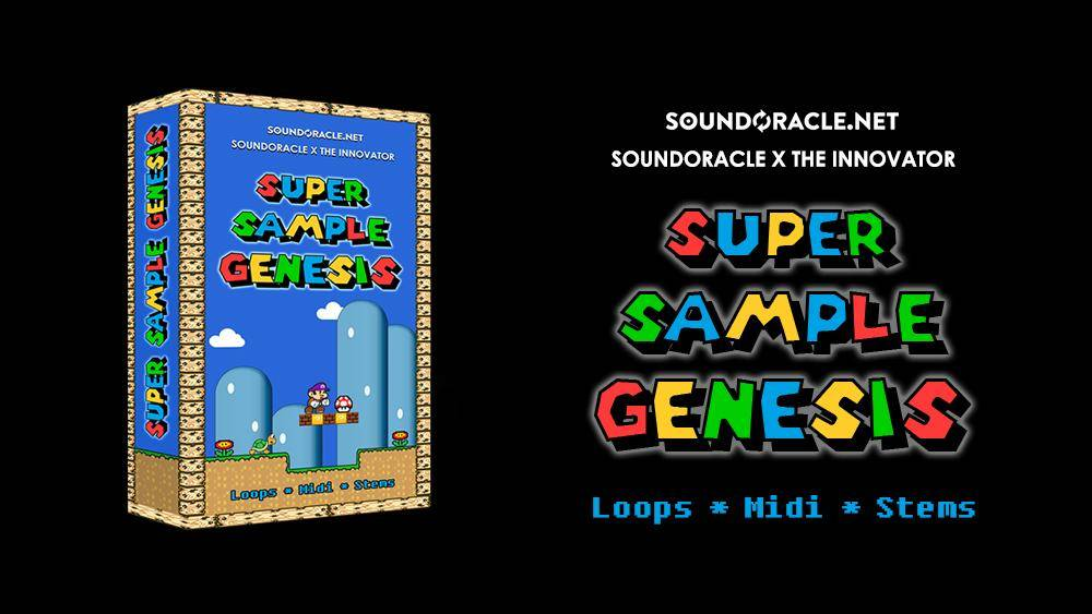 NEW KIT: Super Sample Genesis (Video Game Inspired Music Loops)