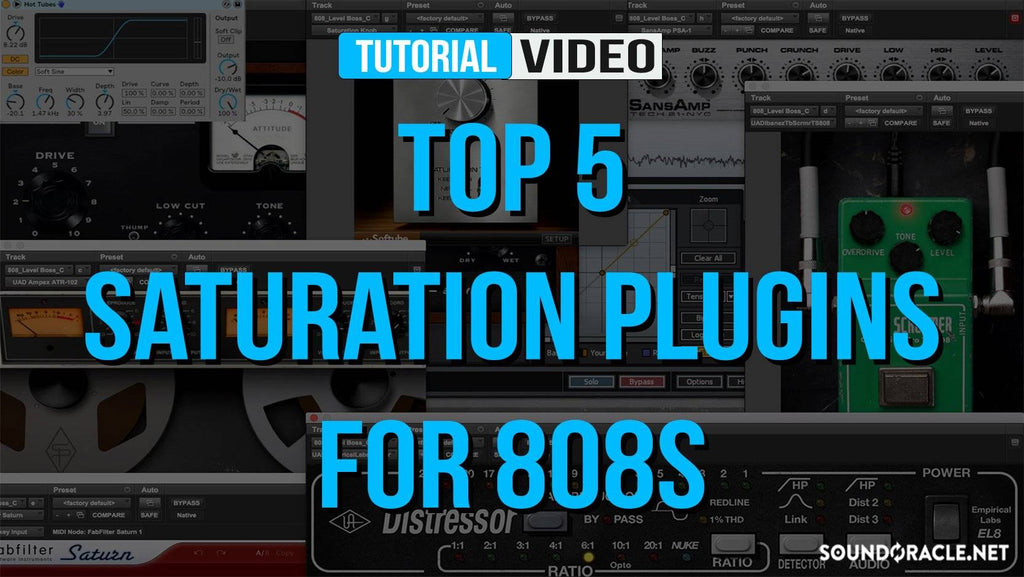 Top 5 Saturation Plugins For 808s