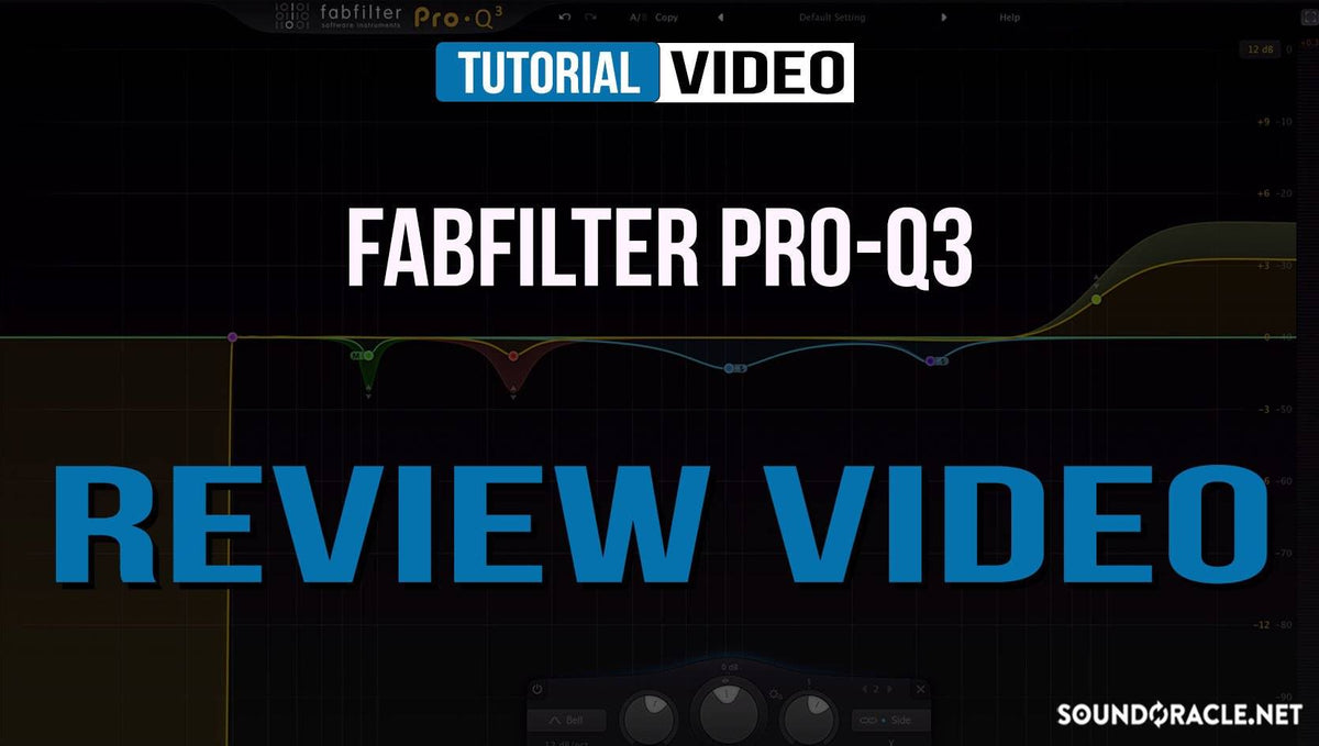 Review - FabFilter PRO-Q3 EQ Plugin
