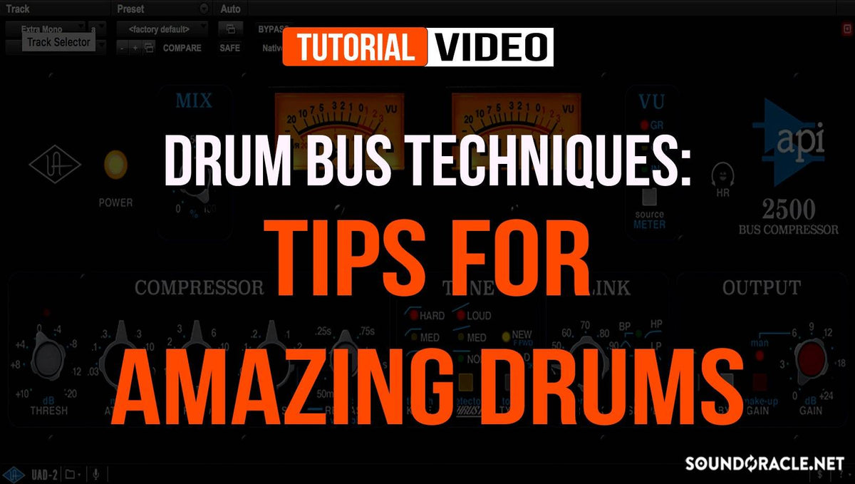 Drum Bus Techniques: Tips For Amazing Drums