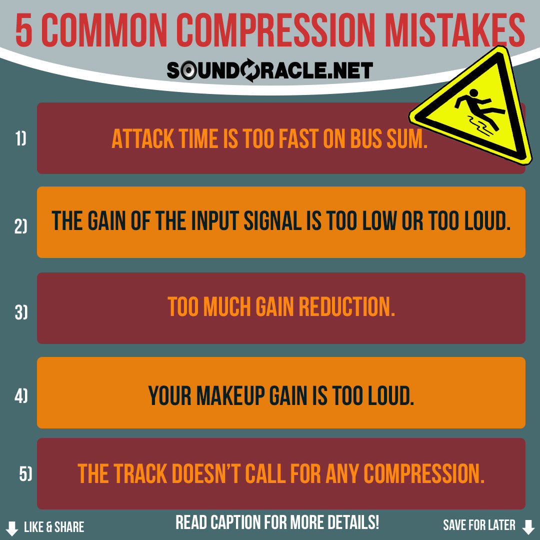 5 Common Compression Mistakes