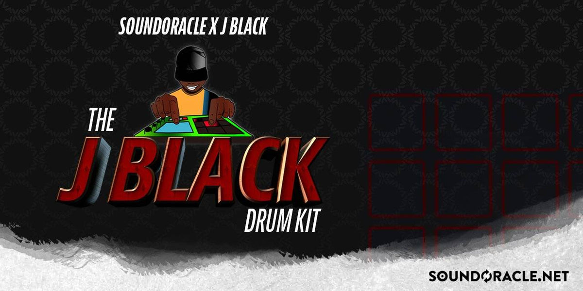New Kit: J Black Drum Kit