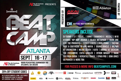Come out and see me this Saturday, September,17 (1:30pm) at the @istandard #beatcampatl