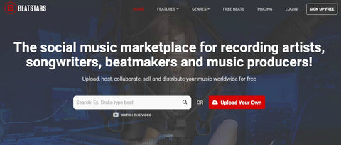 Beatstars.com  - The Top 10 Websites To Sell Your Beats Online - Sound Oracle