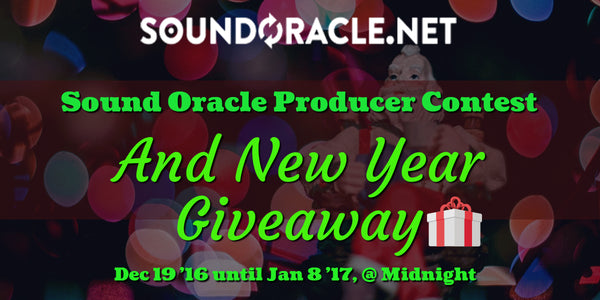 Sound Oracle Producer Contest and New Year Giveaway