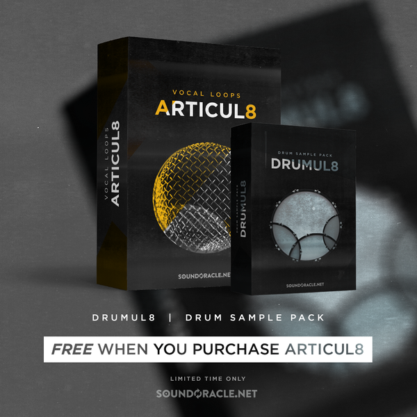 (New Kit) Introducing Articul8 Vocal Loops & 1 Free Drum Kit (Drumul8)