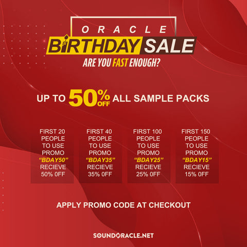 Oracle Birthday Sale