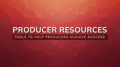 Music Producer Resource Page