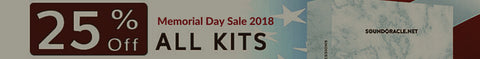Memorial Day Sale 2018 - 25% Off All Kits And Bundles (May 25-29 At Midnight)
