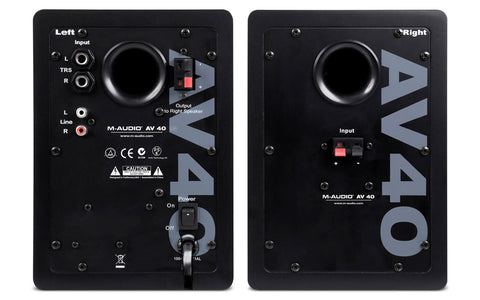 Sound Oracle - M-Audio Studiophile AV 40 - Image Source: m-audio.com