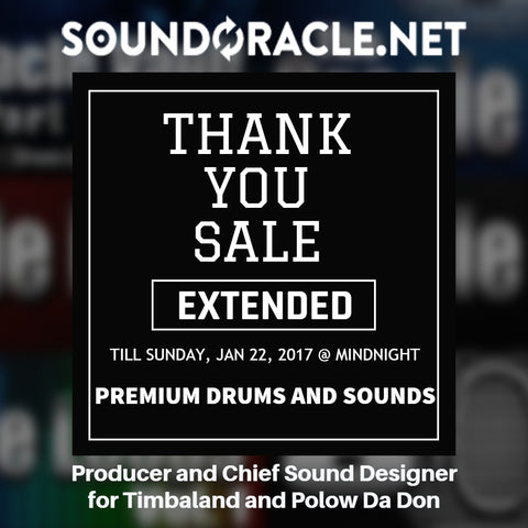 Sound Oracle 15% Promo Extended Till Sunday July 22nd 2017 at Midnight