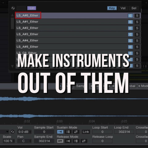 Sound Oracle Blog - Producer Tips - Make Instruments Out of Them