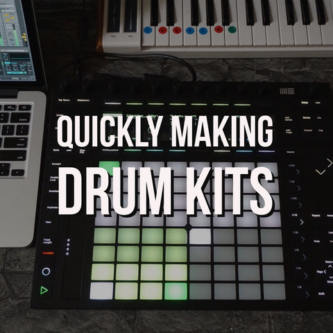Sound Oracle Blog - Producer Tips - Quickly Making Drumkits