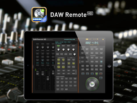 Sound Oracle - DAW Remote HD - Image Source: iTunes
