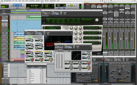Sound Oracle - Pick your DAWs with ProTools - Source: Avid Blog