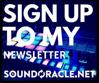 Sign Up to my Sound Oracle Newsletter