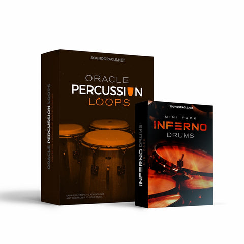 Inferno drums is free. It will be bundled with the percussion loops till the end of the launch.