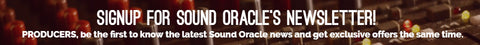 Sound Oracle Newsletter Signup