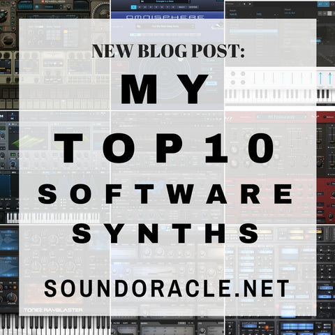 "Sound Oracle's Top 10 ""Go-To"" VST Synths 2016"