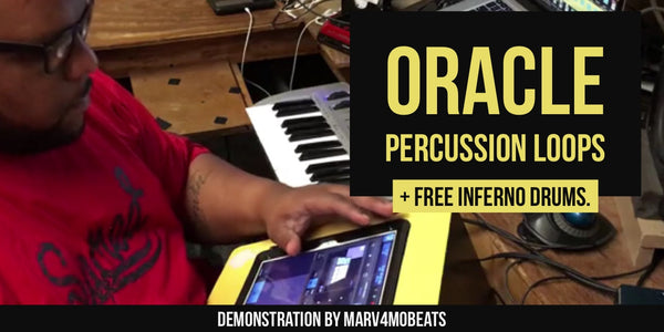 The Oracle Percussion Loops and Inferno Drums Kits - Demonstration by Marv4mobBeatz