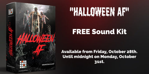 "The 100% FREE Halloween Sound Kit ""Halloween AF"""