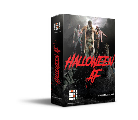 "SoundOracle.net and TheProducerKit.com present ""Halloween AF."" Two FREE Sound Kits."