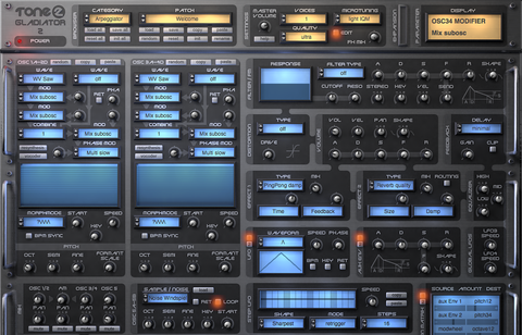Tone2's Electrax2 – Sound Oracle's Top 10 VST Synthesizers – Sound Oracle Blog