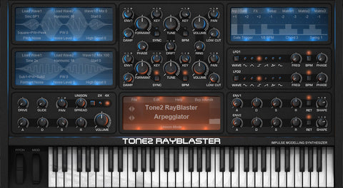 Tone2's Rayblaster – Sound Oracle's Top 10 Go-To VST Synths 2016 – Sound Oracle Blog