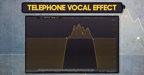 Add Telephone EQ Effect After Your Delay