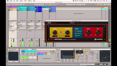 Pitch Your Delay Throws Up or Down an Octave with Your Favorite Pitch Plugin