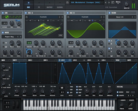 Xfer Records' Serum – Sound Oracle's Top 10 Go-To VST Synths 2016 – Sound Oracle Blog