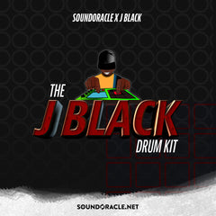 J Black Drum Kit