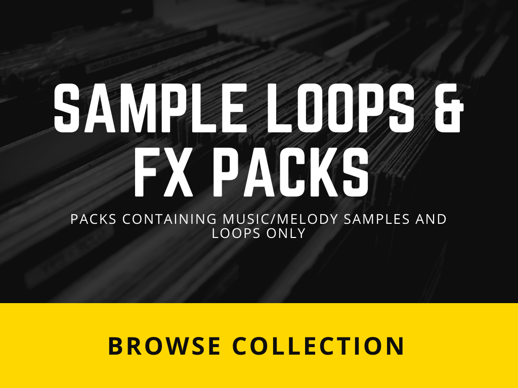 Packs containing Music/Melody Samples & Loops only