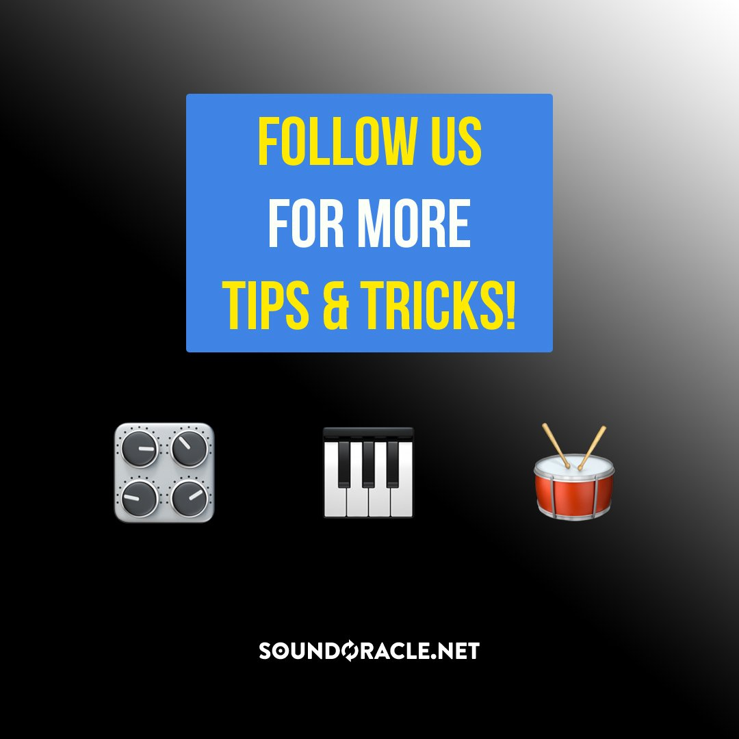 Follow us for more tips & tricks