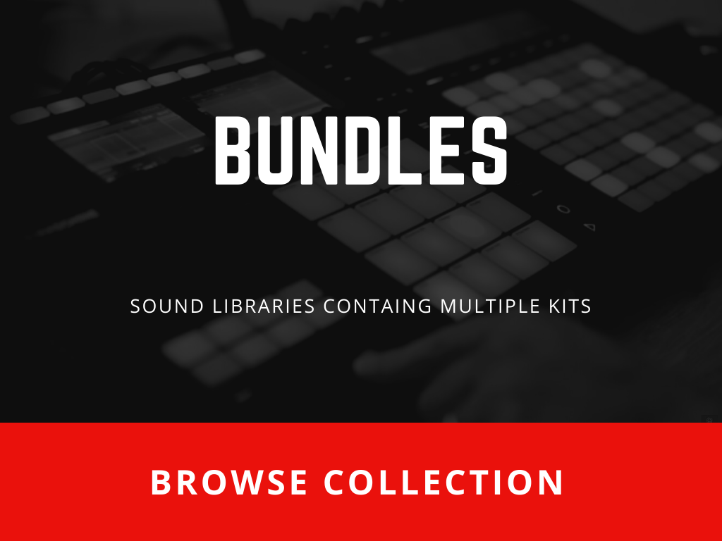 Bundle Sample Packs -SoundOracle Packs containing 808s only-Browse Collection