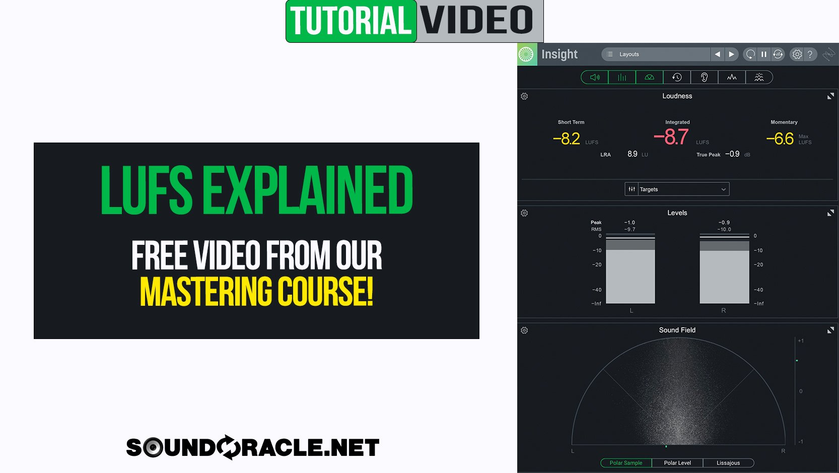 LUFS Explained   Free Video From Our Mastering Course
