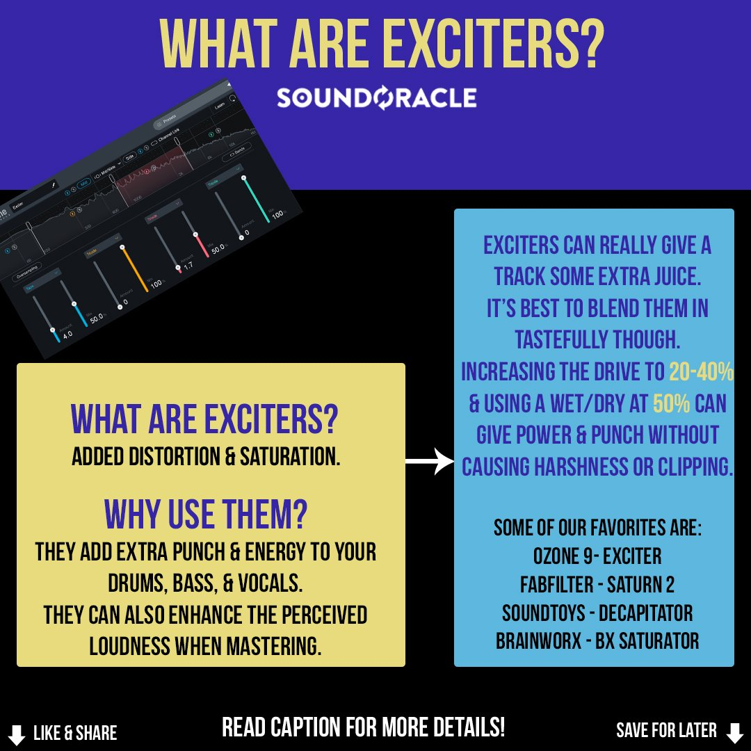 What are Exciters?