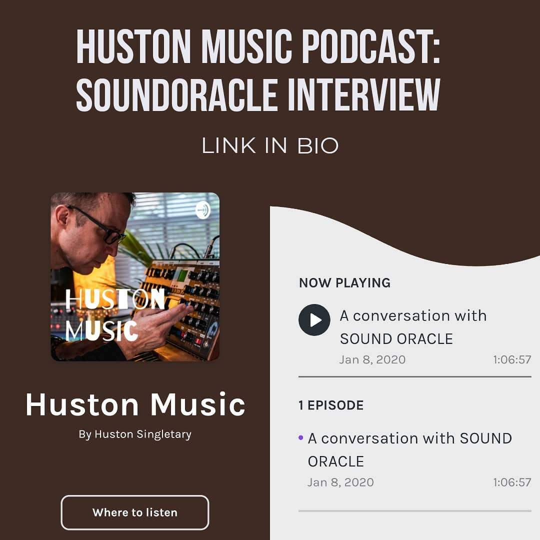 Houston Music Podcast: SoundOracle Interview