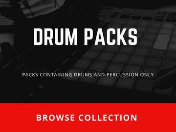 DRUM PACKS-Sound Packs containing Drums and Percussions only-Browse Collection